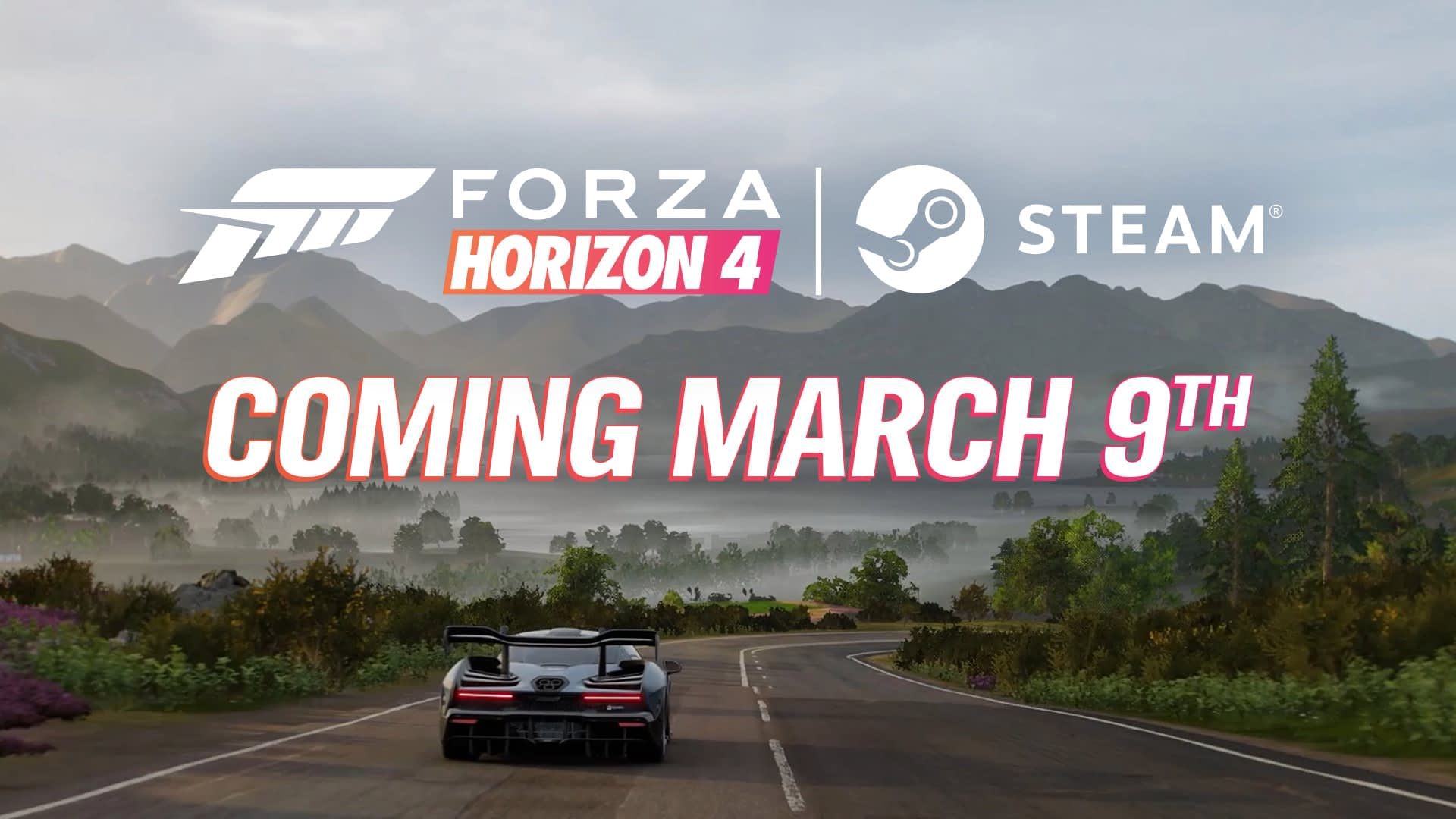 Forza Horizon 4 Races to Steam on March 9 1
