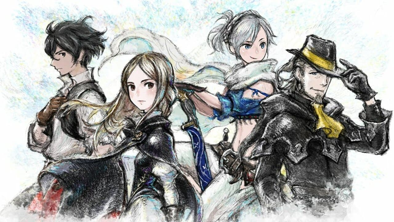 Bravely Default II Spirits Are Being Added To Super Smash Bros. Ultimate 1