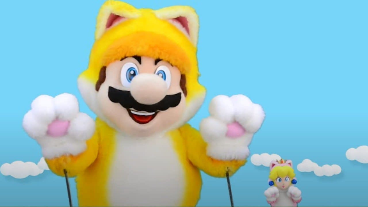 The Cat Mario Show Is Back, Showing Off Bowser's Fury (And BIG Cat Mario) 2