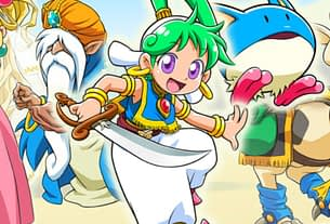Video: Here's Your First Look At Wonder Boy - Asha In Monster World 3