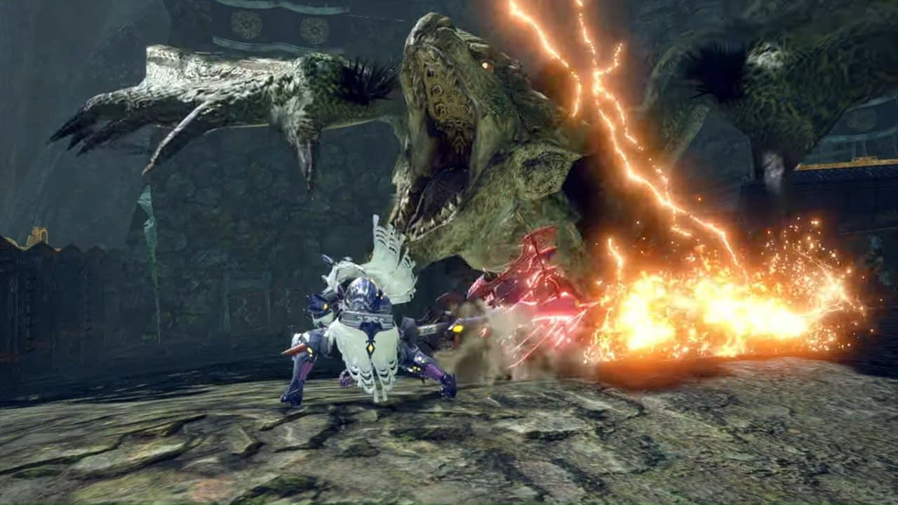Video: Capcom Shows Off Apex Monsters And New Rampage Mode In Monster Hunter Rise 1
