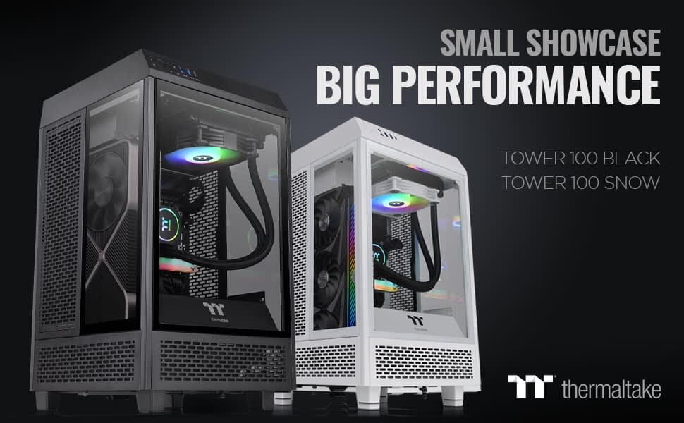 Thermaltake Announces ITX Tower 100 11