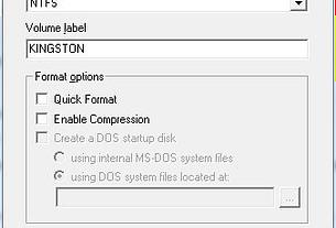 Making An NTFS USB Boot Disk 1