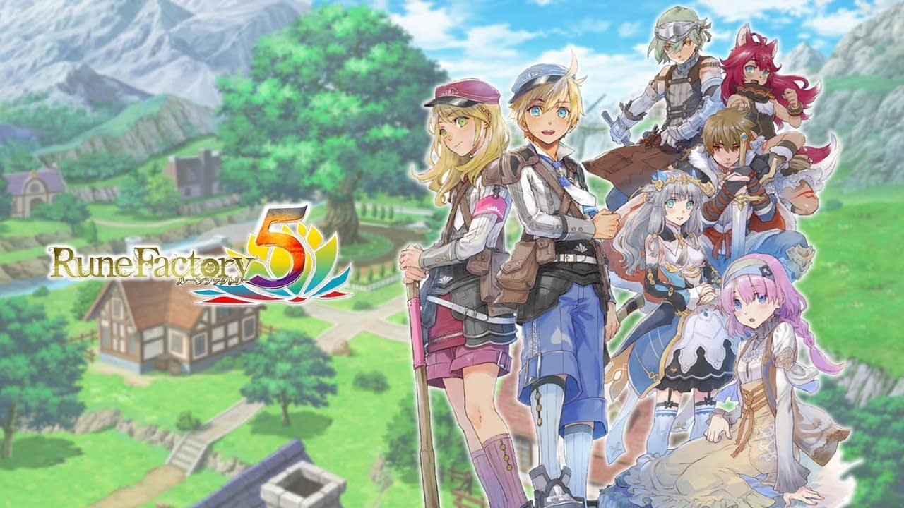 """Marvelous Reveals Rune Factory 5 """"Premium Box"""", Launches This May In Japan 1"""