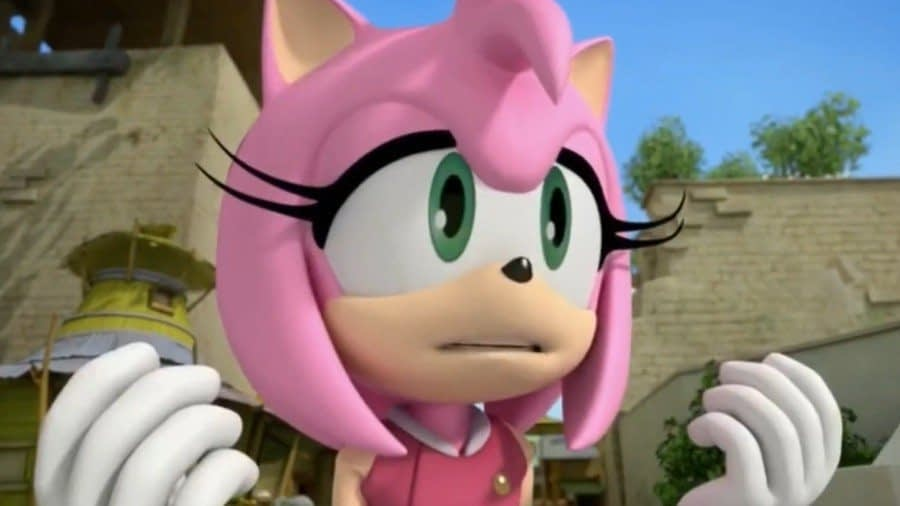 Amy Rose's Voice Actor Confirms She's Done With Sonic The Hedgehog 1