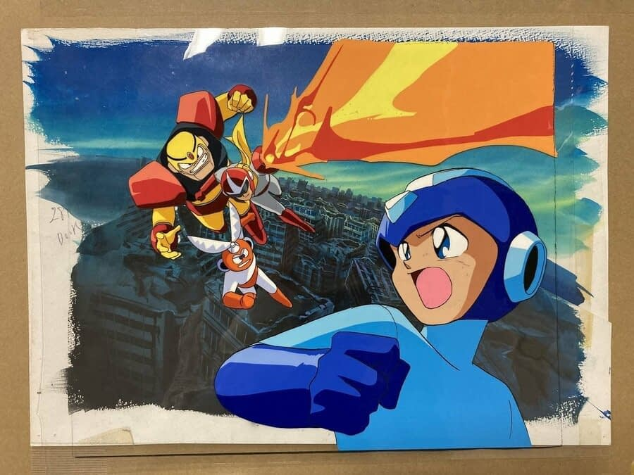 Mega Man Historians Just Bought A Load Of Unreleased Mega Man Art From The '90s 1