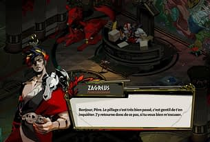Random: Hades In French Adds Lots Of Puns, And Makes Hypnos Extra-Sleazy 3