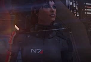 FemShep finally gets her due in Mass Effect Legendary Edition trailer, Jennifer Hale extremely stoked FemShep looks meaningfully into the distance 3