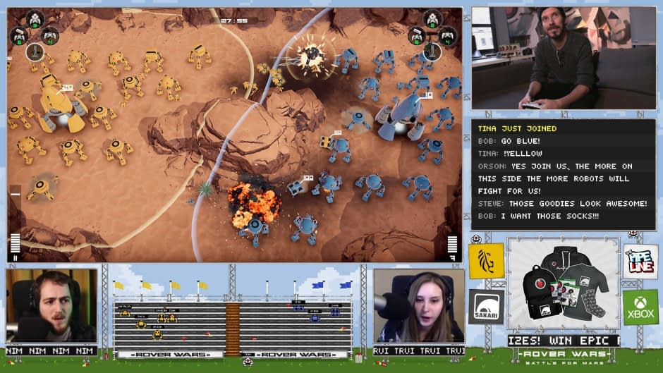 Join the Rover Wars: Battle for Mars Launch Event Today on Twitch 1