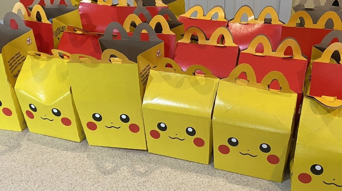 Not even McDonald's Pokémon Happy Meals are safe from scalpers 1