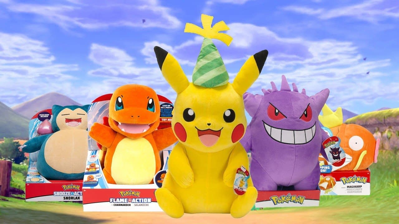 Guide: Celebrate Pokémon's 25th Anniversary With 25 Toys And Plushes From Jazwares 2