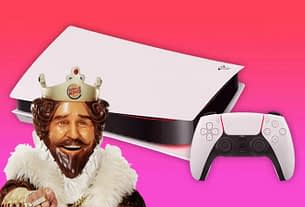 PlayStation Reveals PS5 Box With The Help Of Burger King 5