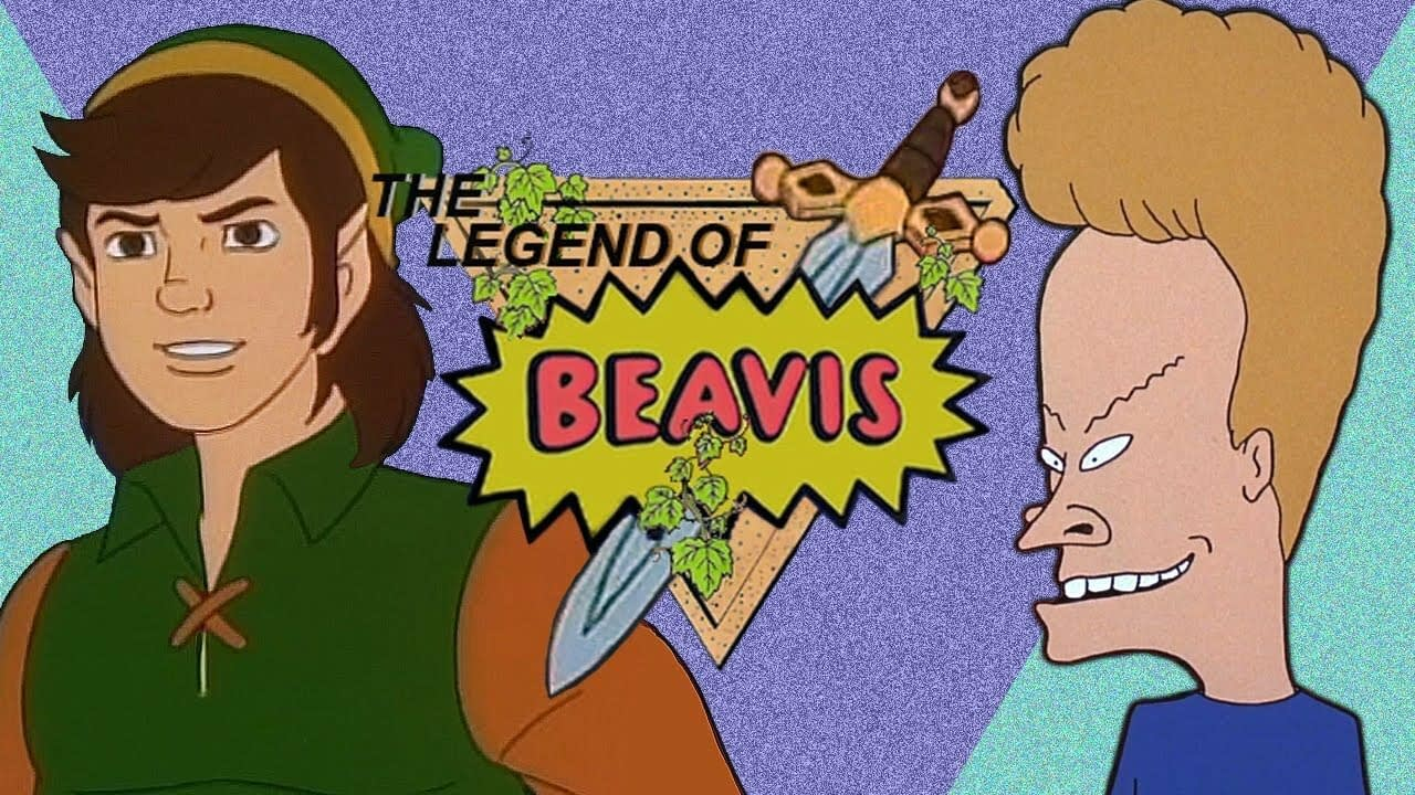 Random: Zelda x Beavis And Butt-Head Is A Mash-Up That Works Better Than You'd Think 2