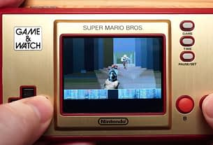 Yes, The Super Mario Bros. Game & Watch Can Run DOOM 3
