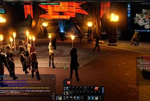Star Trek Online players gather in-game to pay tribute to Christopher Plummer 3