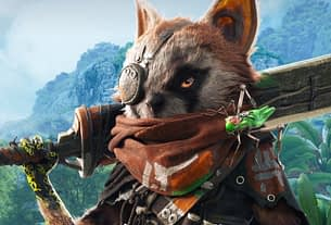 Biomutant evolves into a game with a release date Biomutant kung-fu cat glowering. 2
