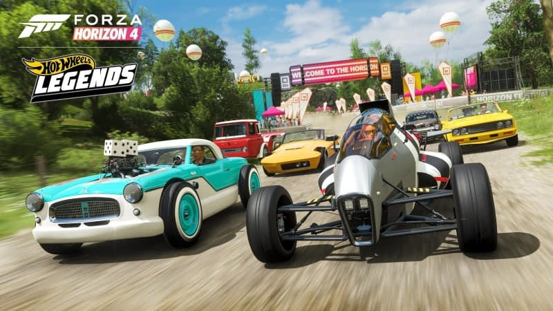 Forza Horizon 4 Racing To Steam In March, Hot Wheels Pack On The Way 1