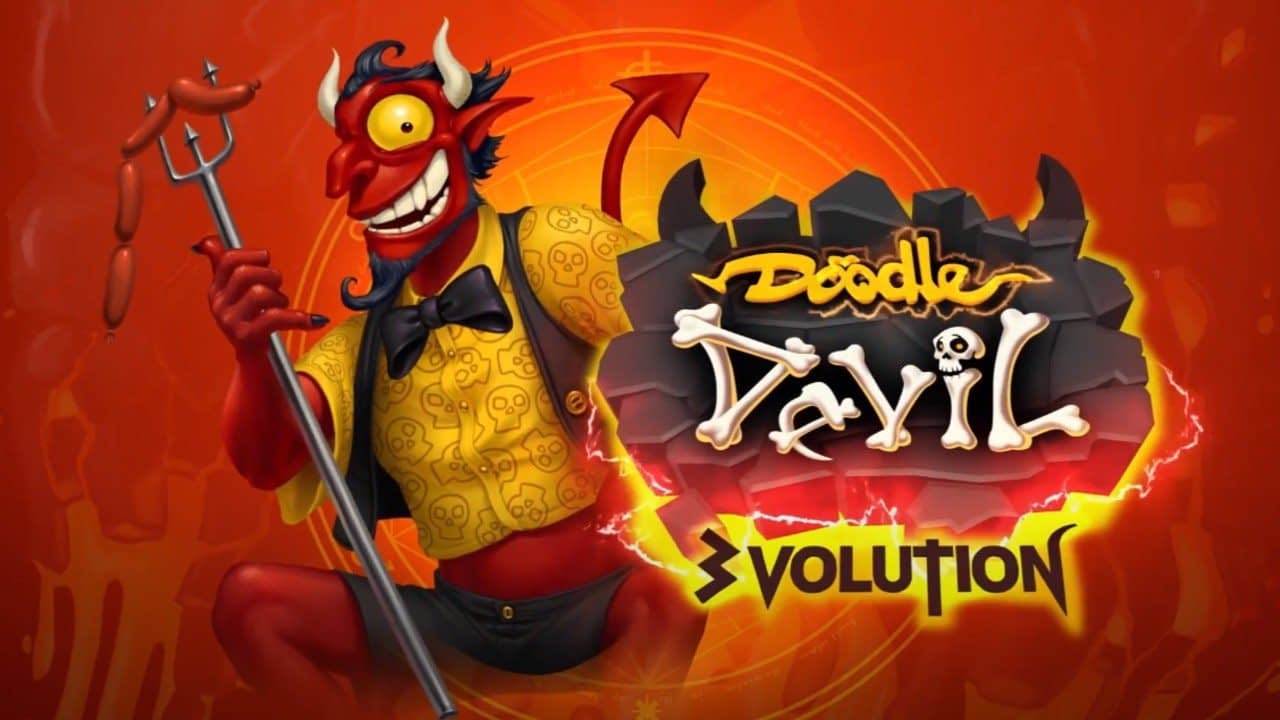 Combine-'Em-Up Doodle Devil 3volution Brings Hell To Switch This March 2