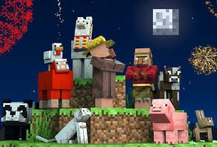 Ring in the Year of the Ox with new Minecraft content! 12