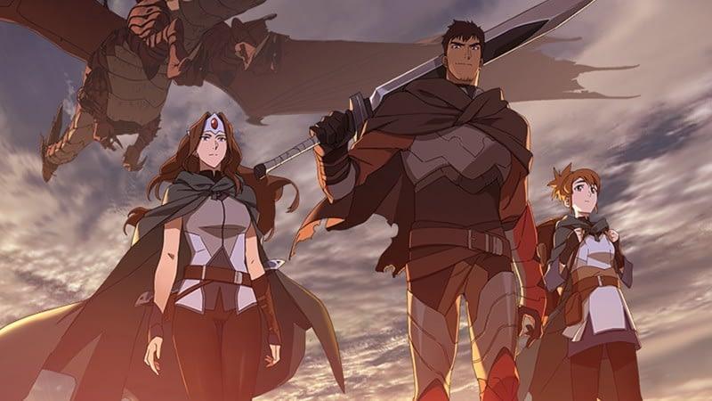 Dota Gets A Netflix Anime Next Month 1