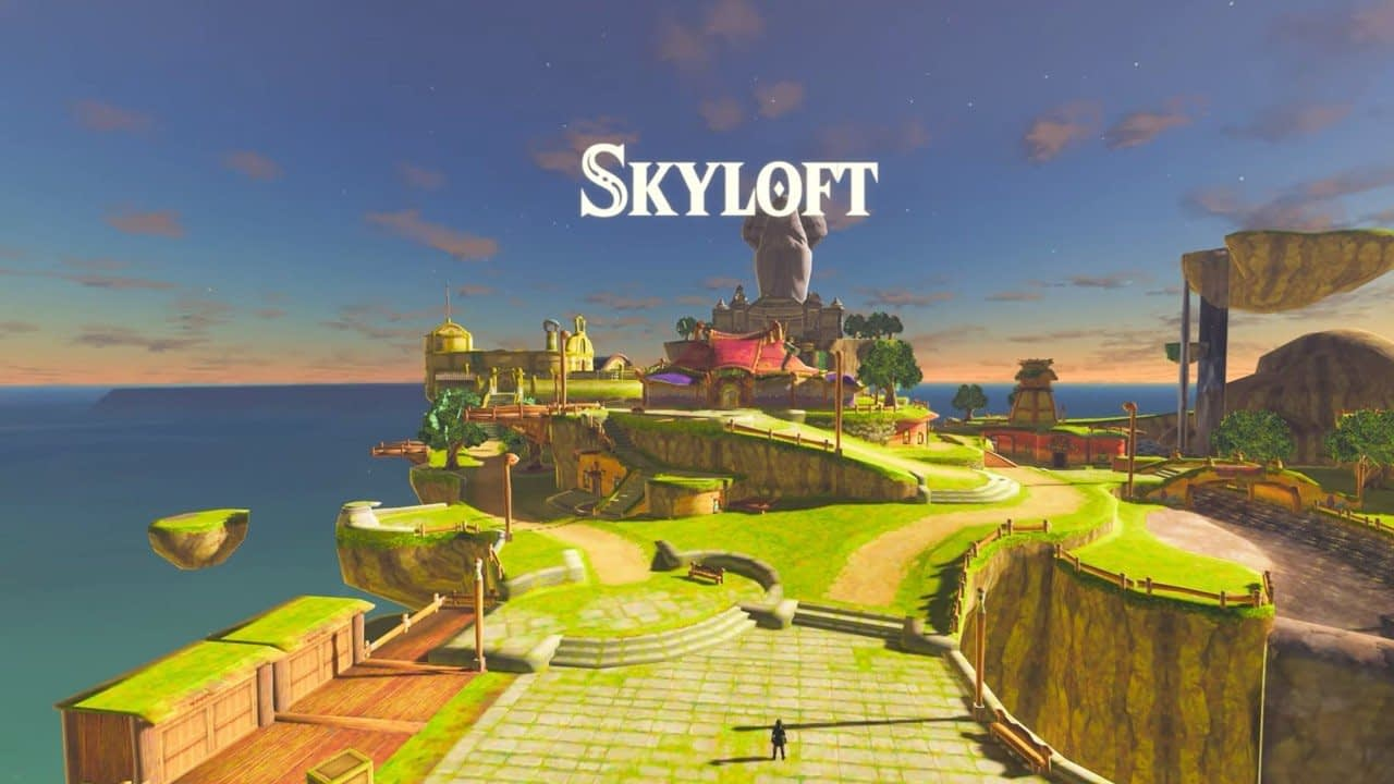 Modders Just Made It Possible To Play Skyward Sword Inside Breath Of The Wild 1
