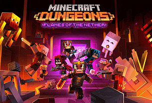 Minecraft Dungeons Flames of the Nether Available Now 6