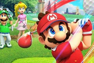 Take A Look The Stunning Nintendo Switch Box Art For Mario Golf: Super Rush 3