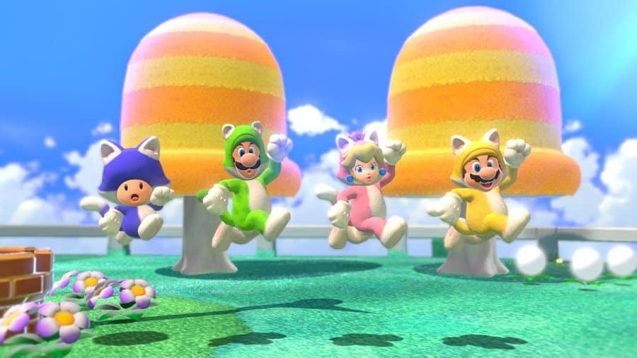 """Super Mario 3D World's Platforming Will Be """"Snappier"""" On Switch, Gyro Support Included 1"""