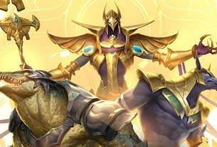 Legends of Runeterra's next expansion is Empires of the Ascended Three inhabitants of Shurima, Legends of Runeterra's pseudo-Egyptian region 3