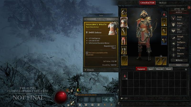 Diablo IV Rogue Revealed At BlizzCon 1