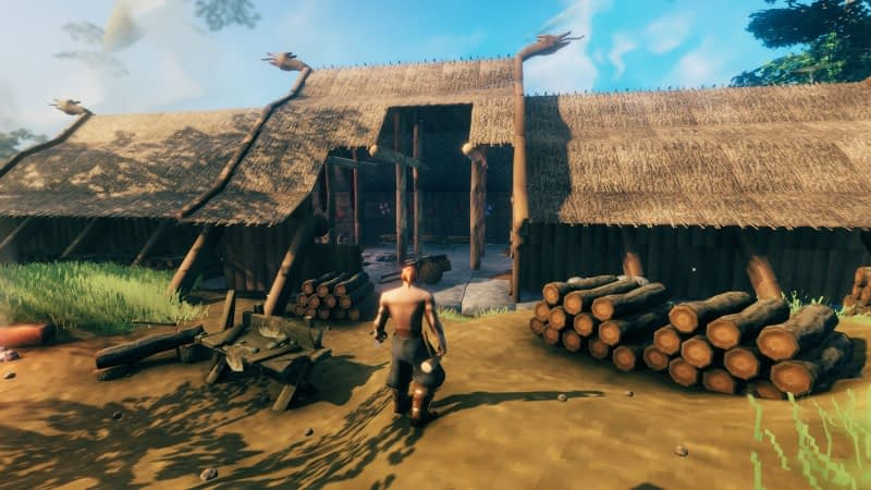 How To Get Started In Norse Survival Game Valheim 1