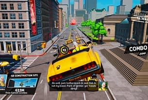Beep Beep! Taxi Chaos Takes Its Directions From Crazy Taxi, Coming To Switch On February 23rd 2