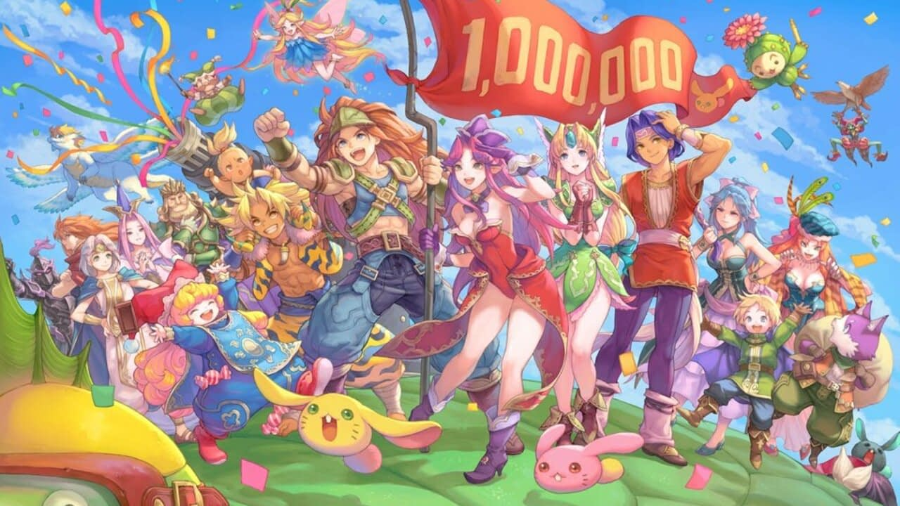 Trials Of Mana Has Surpassed One Million Sales Worldwide 2