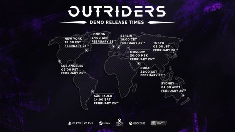 Everything You Need To Know About Next Week's Outriders Demo 1