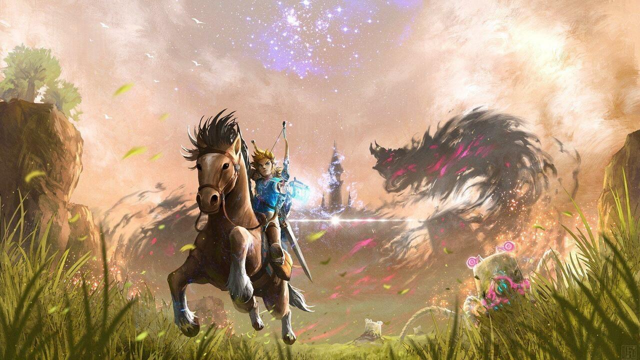 Random: Zelda: Breath of the Wild Player Beats Every Shrine With His Feet 1