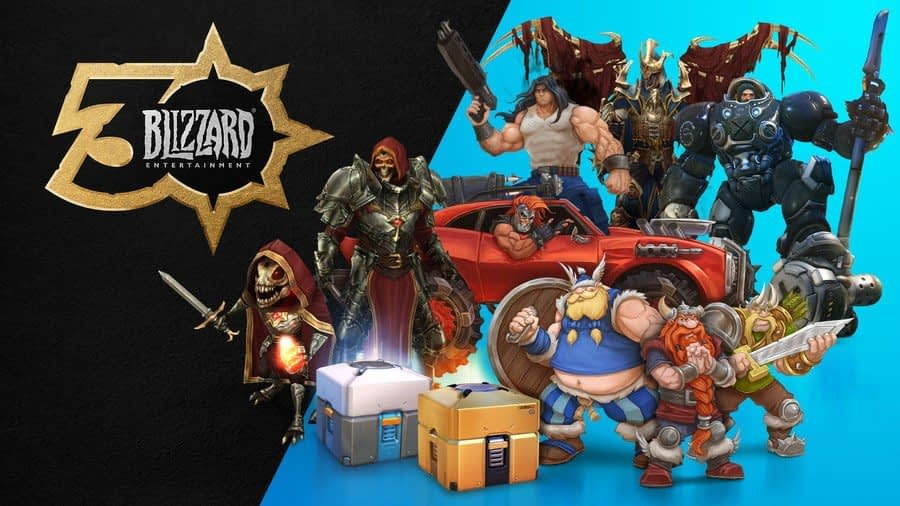 Get A Stack Of Extra Goodies In Blizzard's 30th Anniversary Celebration Collection 1
