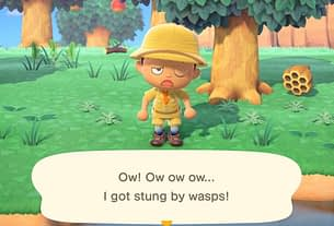 Random: This Wasp Run In Animal Crossing Will Make You So Nervous 3