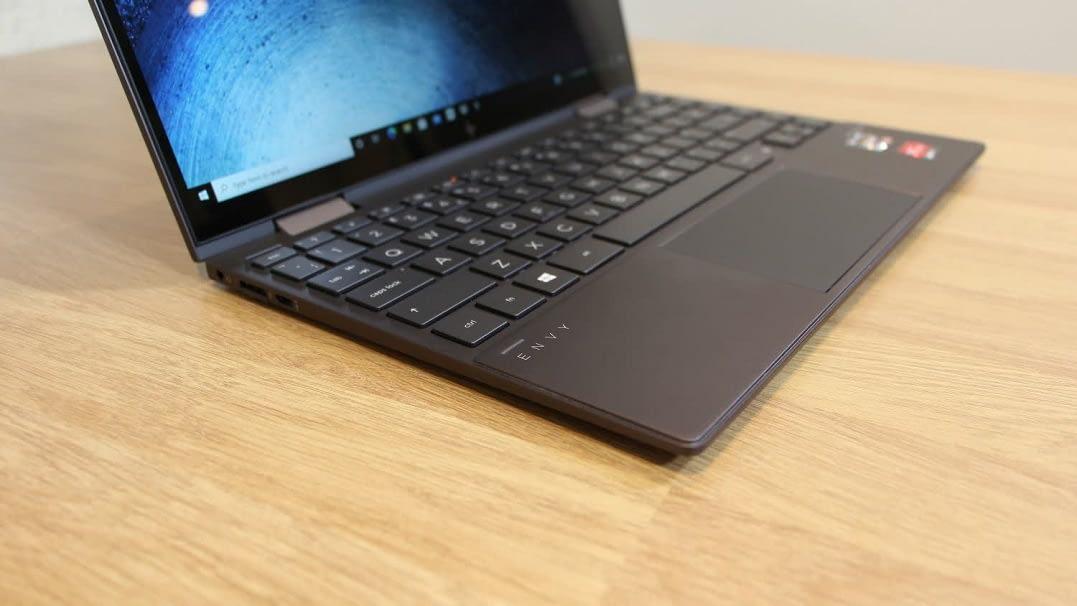The HP Envy x360, AMD's Ultrabook 1