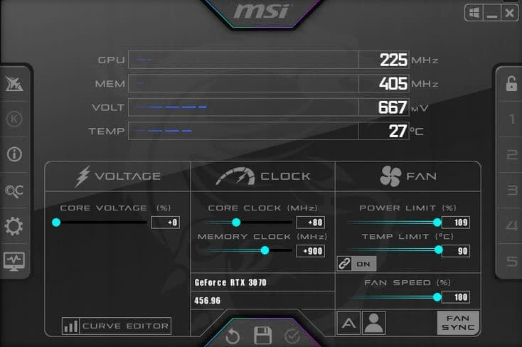 RTX 3070 FE Overclocking; Squeezing Those Frames Out 1