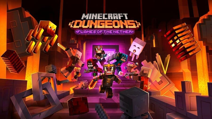 Mojang's Next DLC Pack For Minecraft Dungeons Launches Later This Month 1