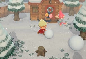 Animal Crossing: New Horizons Fans Are Sharing Shots Of Their Islands Covered In Snow 3