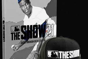 The Legendary Jackie Robinson Graces the Cover of MLB The Show 21: Collector's Editions 1