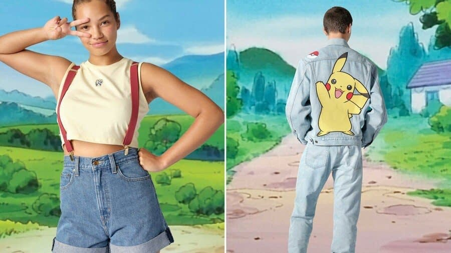 Levi's Just Announced A New Line Of Pokémon Clothing, And It Includes Misty's Outfit 1