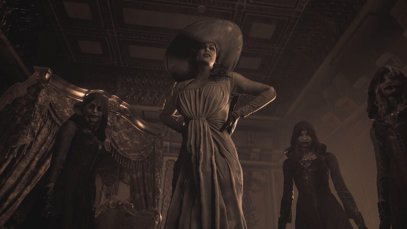Resident Evil Village's Lady Dimitrescu Is Officially Over Nine Feet Tall 1